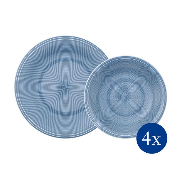 Color Loop Horizon service de table, bleu ciel, 8pièces, , large