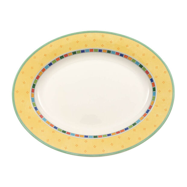 Twist Alea Limone ovale schaal 34 cm, , large