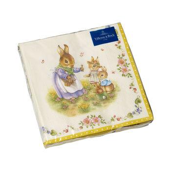 Spring Fantasy serviettes de tables, famille, 33x33cm, 20pièces