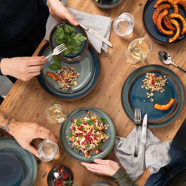 Crafted Breeze assiette creuse, bleu-gris, 21,5cm, , large