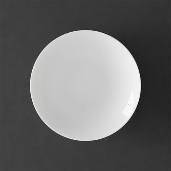 MetroChic blanc soepbord, diameter 20 cm, diepte 5 cm, wit