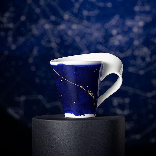 NewWave Stars beker Ram, 300 ml, blauw/wit, , large