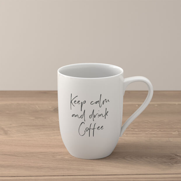 """Statement beker """"Keep calm and drink coffee"""", , large"""
