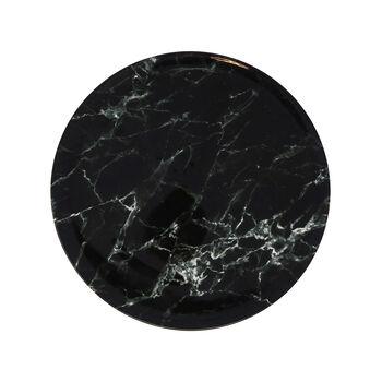 Marmory Dinerbord black, 27x27x1,5cm