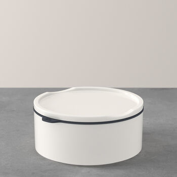 ToGo&ToStay lunchbox, 13x6cm, rond, wit