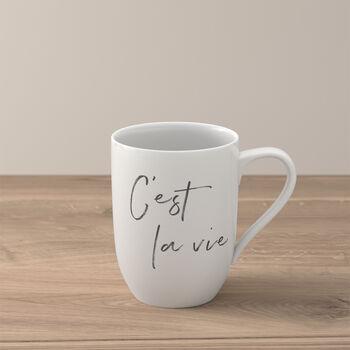 Statement mug «C'est la vie»