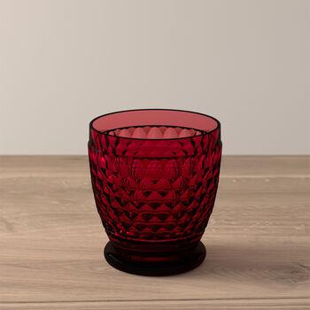 Verre à eau/cocktail Red Boston Coloured