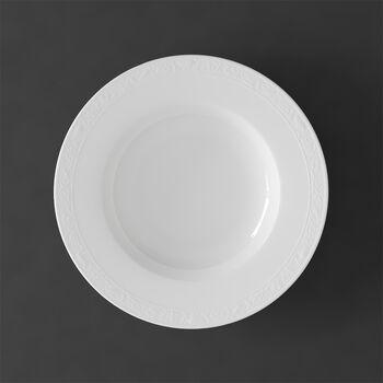 White Pearl assiette creuse