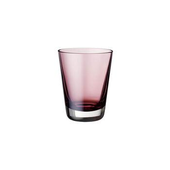Colour Concept waterglas / longdrink / cocktail burgundy 108mm