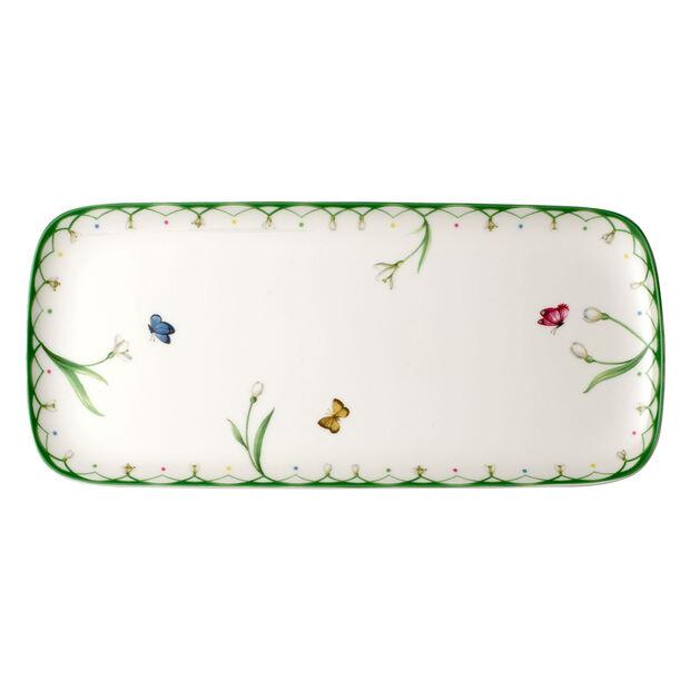 Colourful Spring plat à gâteau rectangulaire, , large