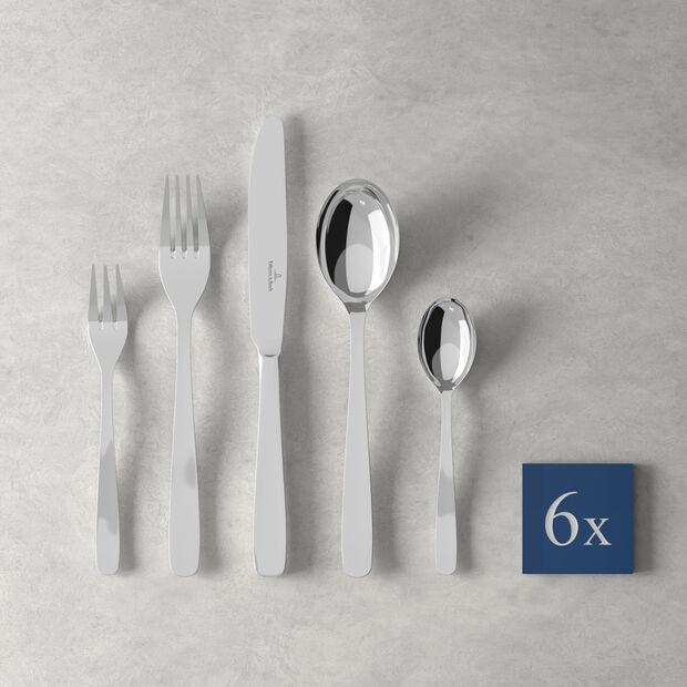 Liam couverts de table, 30pièces, pour 6personnes, , large