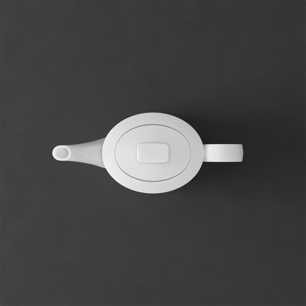 MetroChic blanc Gifts Théière petite 21x9x10,5cm, , large