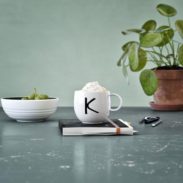 Mug Letters K 13x10x8cm, , large