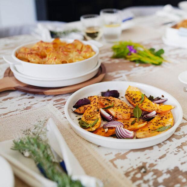 Clever Cooking plat à four rond avec couvercle, 28cm, , large