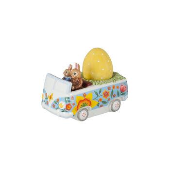 Bunny Tales figuur bus, gekleurd