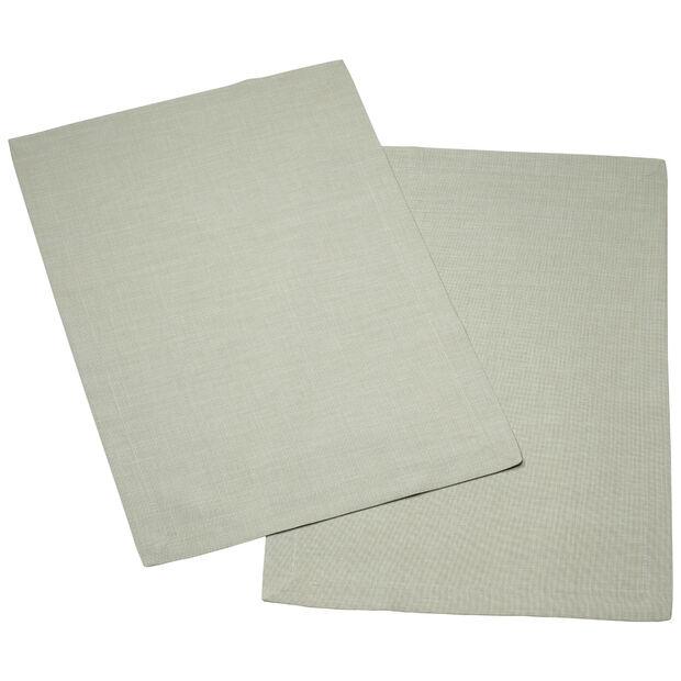 Textil Uni TREND Set de table fog green Set 2 35x50cm, , large
