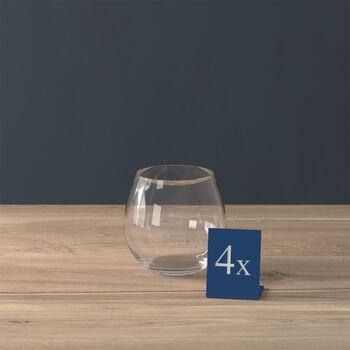 Entrée waterglas, 570 ml, 4 stuks