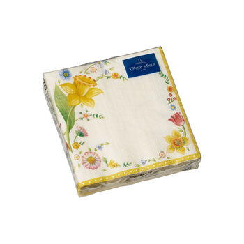 Spring Fantasy servetten, paasbloemen, 25x25cm, 20 stuks