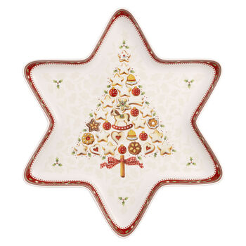 Winter Bakery Delight grande coupe en forme d'étoile