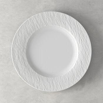 Manufacture Rock Blanc assiette plate