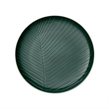 it's my match Green assiette Leaf