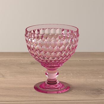 Boston Coloured champagne- en dessertschaaltje, roze, 12,5 cm