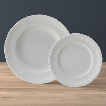 Manoir ensemble d'assiettes, 2pièces, pour 1personne