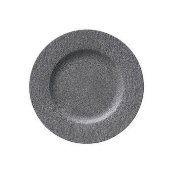 Manufacture Rock Granit assiette plate, 27cm, grise