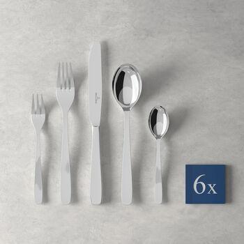 Liam couverts de table, 30pièces, pour 6personnes