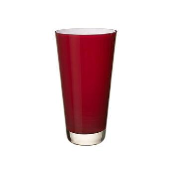 Verso Vase petit deep cherry 250mm