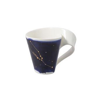 NewWave Stars beker Stier, 300 ml, blauw/wit