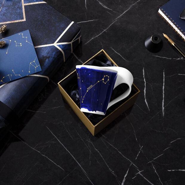 NewWave Stars mug poissons, 300ml, bleu/blanc, , large