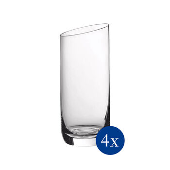 NewMoon longdrinkglazenset , 370 ml, 4-delig
