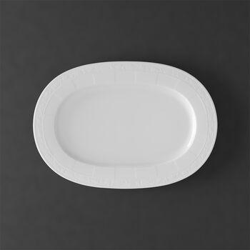 White Pearl ovale schaal 41cm