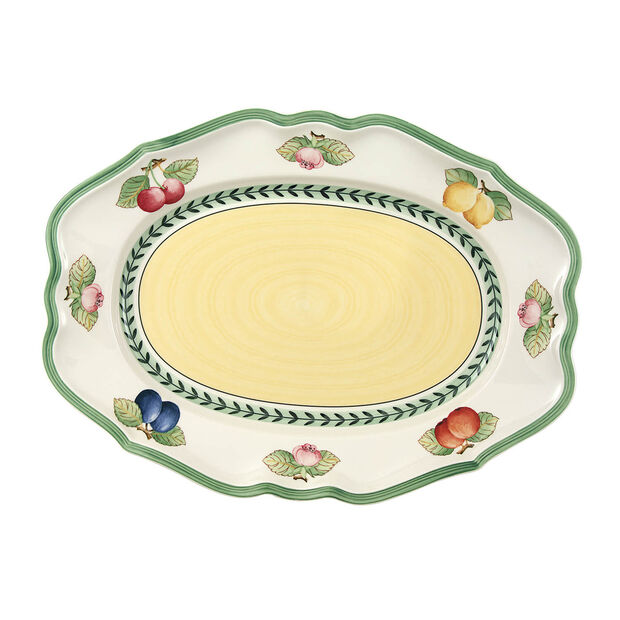 French Garden Fleurence ovale schaal 37  cm, , large