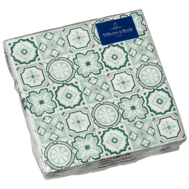 Papieren servetten Jade Caro, 20 stuks, 25x25cm, , large