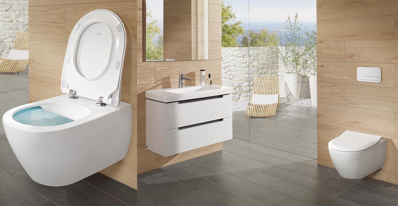 Tendances actuelles de salle de bain de Villeroy & Boch