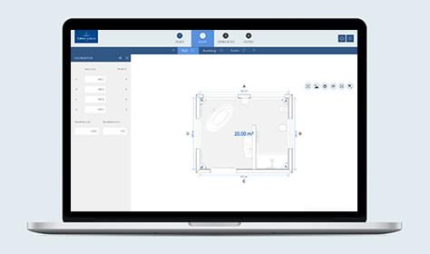 de 3d badkamerplanner houdt rekening met deze informatie bij uw verdere planning zodat u uw badkamer kunt ontwerpen zonder later ongewenste verrassingen