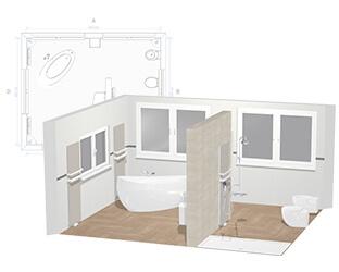 Programme De Conception De Salle De Bains 3d Concevoir En