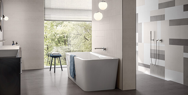 grote badkamer stijlbewust ontwerpen en inrichten villeroy boch. Black Bedroom Furniture Sets. Home Design Ideas