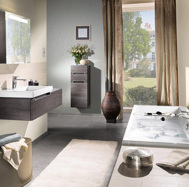 Aménager une petite salle de bain de façon optimale - Villeroy & Boch