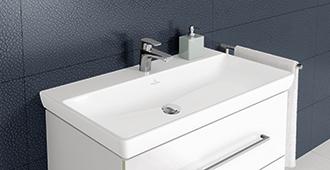 Lavabos en porcelaine sanitaire villeroy boch - Villeroy et boch salle de bains ...