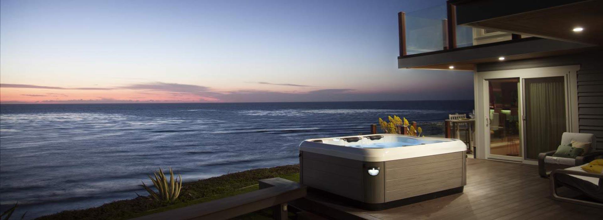 spas d 39 ext rieur villeroy boch la d tente dans le jardin. Black Bedroom Furniture Sets. Home Design Ideas