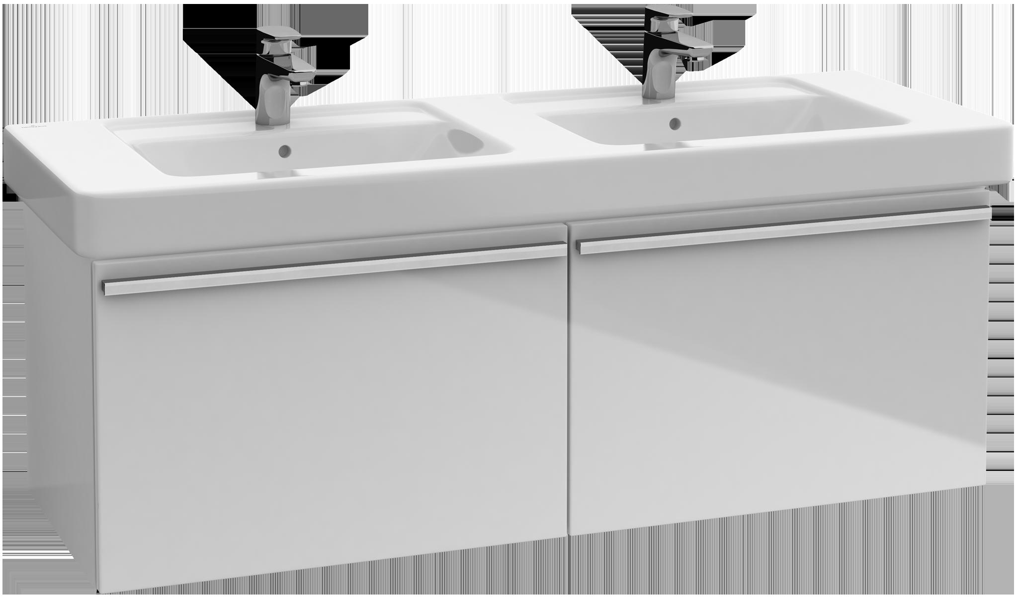 Central line meuble sous lavabo a288p2 villeroy boch for Meuble de salle de bain villeroy et boch