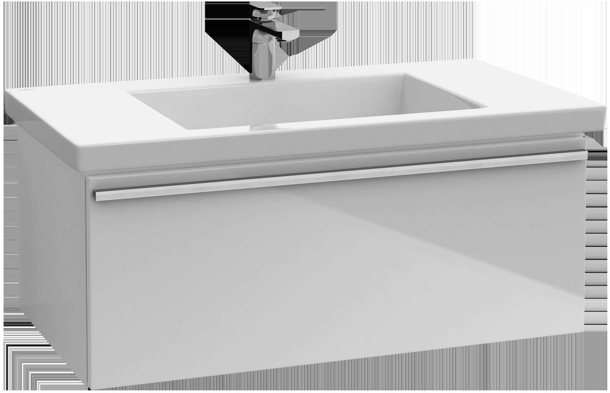Central line meuble sous lavabo a289e2 villeroy boch for Meuble central