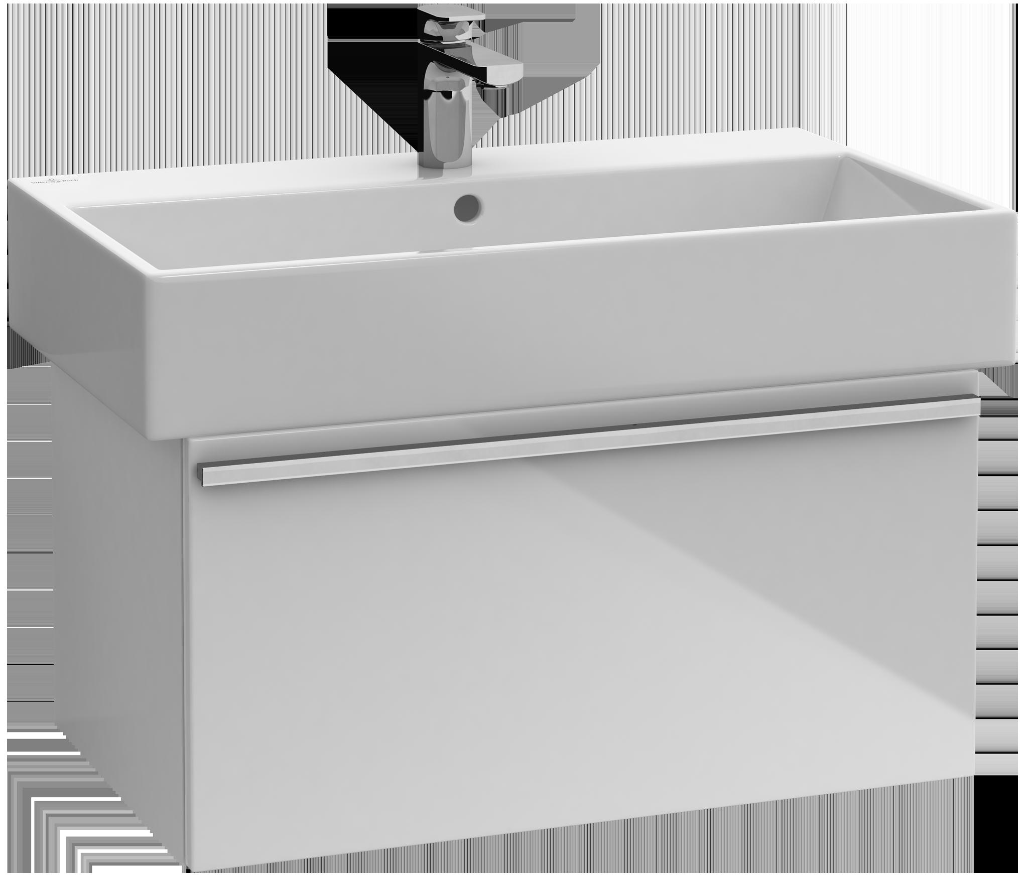 Central line meuble sous lavabo a291e2 villeroy boch for Meuble sous lavabo fly