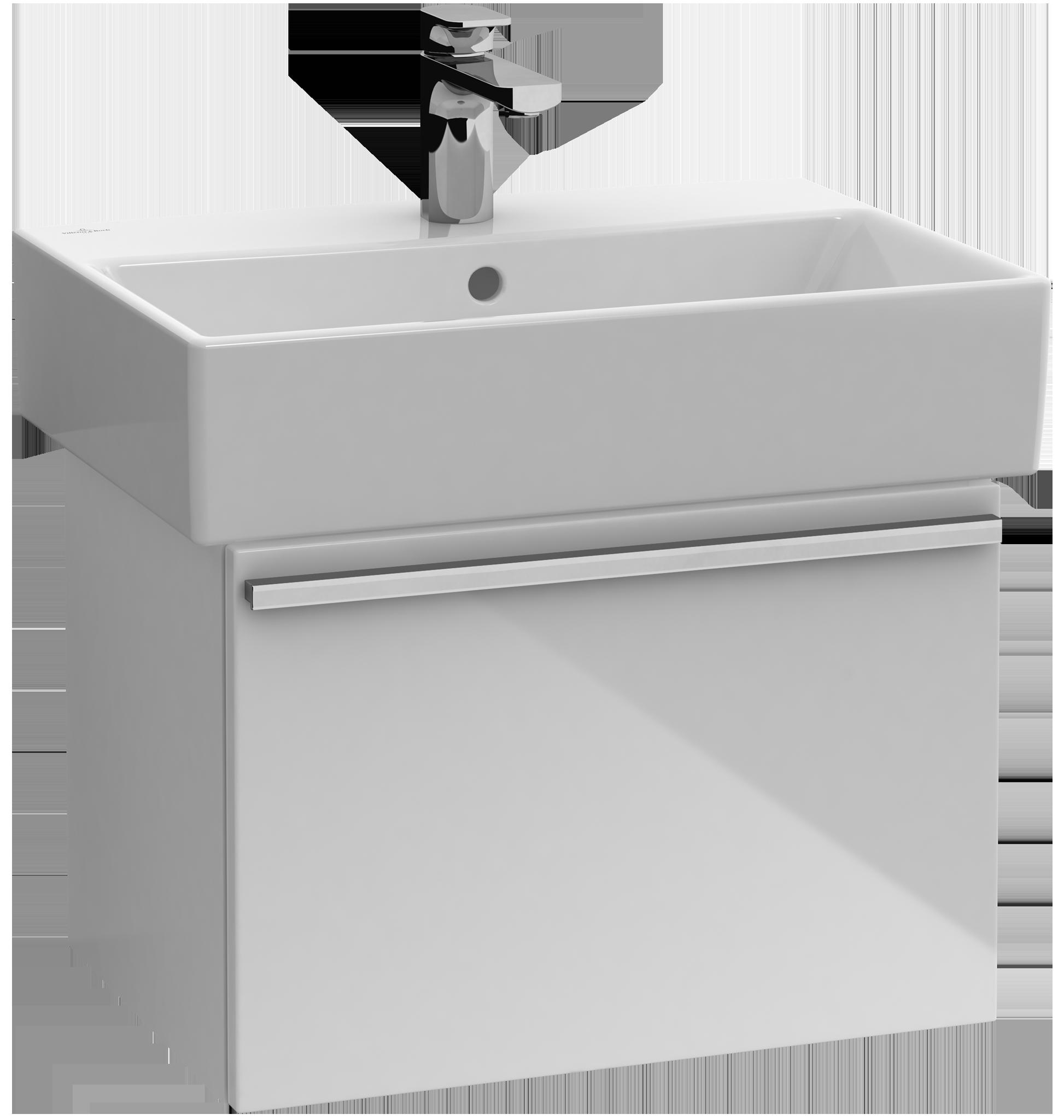 Central line meuble sous lavabo a292g2 villeroy boch for Meuble sous lavabo fly