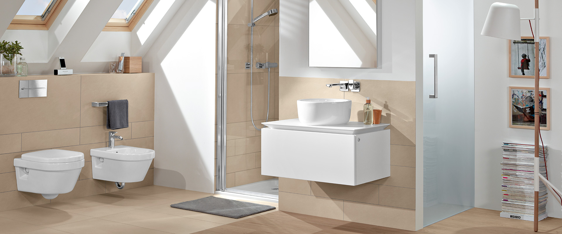 Collection architectura un design atemporel villeroy for Salle de bain villeroy et boch